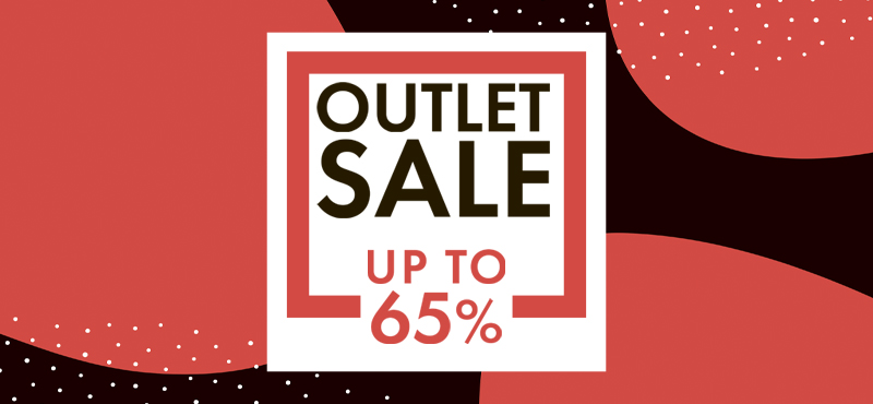 OUTLET SALE in SOVA!